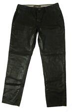 J Brand Womens Size 29 Brown Mocha Waxed Straight Leg Pants