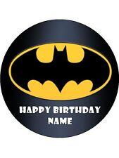 BATMAN 19CM REAL KOPYKAKE EDIBLE ICING IMAGE BIRTHDAY CAKE TOPPER