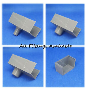 Greenhouse gutter spares to suit Halls Parts Outlets Blank End Rain Water Butt