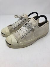 Vintage Jack Purcell Converse MADE IN USA Cream Canvas Sz 6.5 Mens / Womans 8.5