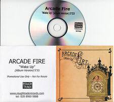 ARCADE FIRE Wake Up 2005 UK 1-trk promo test CD album version