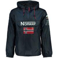 Cazadora Talla L Canguro Marca Geographical Norway Color Azul MarinoChubasquero