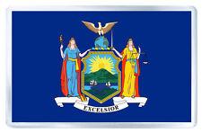 NEW YORK USA FLAG FRIDGE MAGNET SOUVENIR IMAN NEVERA