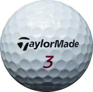 100 TaylorMade Penta TP/TP5 Golfbälle im Netzbeutel AA/AAAA Lakeballs Bälle Golf