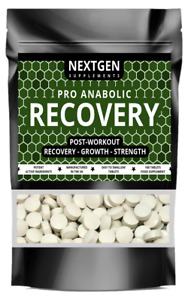 PRO ANABOLIC MUSCLE GROWTH & RECOVERY PILLS LEAN MUSCLE - STRENGTH - 100 TABLETS