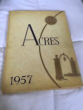 1957 Stonehill College Yearbook North Easton Massachusetts The Acres