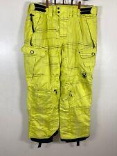 EUC Spyder Mens Ski Snow Pants Green Black Thinsulate Insulated Size XL