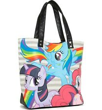 NWT Sold Out My Little Pony Glitter Canvas Tote bag
