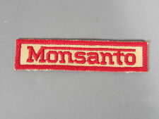 Monsanto Patch / New Old Stock of Closed Embroidery Company / FREE Ship