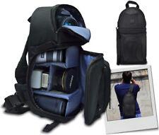 Large Deluxe Cameras/Camcorder Backpack Bag for Nikon D3200 D5200 D5100 D7000