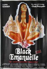 (A05) Gerollt/Filmplakat BLACK EMANUELLE 2. Teil  1976 Laura Gemser