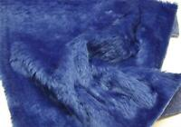 Plain Fun Faux Fur Fabric Material ROYAL BLUE