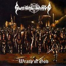Suicidal Winds - Wrath of God CD Black Thrash Metal Sweden