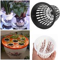 10Pcs Plastic Planting Net Basket Flower Pot Hydroponic Aquatic Plant Growth Cup