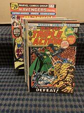 Marvel Triple Action Comics (Lot of 28) Bronze Age, Marvel #2 to 29 (C241)