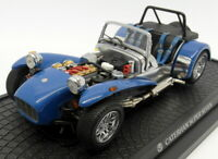 Kyosho 1/18 scale Diecast - 7020BL Caterham Super Seven Clam Shell Wing Blue