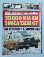 L AUTO JOURNAL - BIMENSUEL N° 11 - 15 JUIN 1976 *