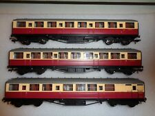 Hornby Gresley Super Detail Coaches x 3 VGC Unboxed