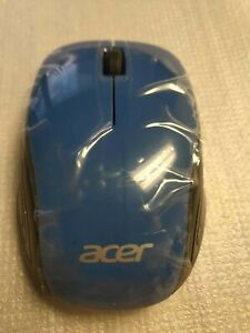 New original Acer wireless optical mouse MORFHPUO 1.5A~40mA blue
