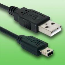 USB Kabel für Canon Ixus 120 IS Digitalkamera | Datenkabel | Länge 2m