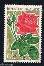 1 FRANCOBOLLO FRANCIA ROSE 1962 usato