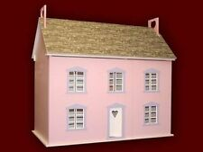 Tulip Cottage Dolls House 1:12 Scale - Unpainted Collectable Dolls House  Kit