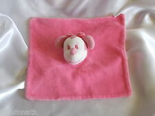 Doudou souris Minnie, rose, grelot, Disney, Carrefour