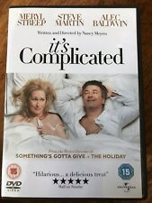 Meryl Streep Alec Baldwin Steve Martin IT'S COMPLICATED ~ 2009 Romcom UK DVD