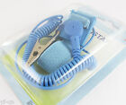 1set Blue Anti Static Antistatic ESD Adjustable Wrist Strap Band Grounding Wire