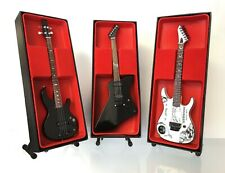 Metallica (Hetfield, Hammett, Burton): Miniature Guitar Set 2 (UK Seller)