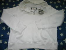 Abercrombie & Fitch  Hooded Pullover Jacket white vintage L