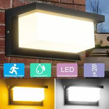 18W LED Außenleuchte mit Bewegungsmelder Wandleuchte Anthrazit Sensor Außenlampe