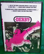 BRAND NEW RARE OOP CODE RED DERBY DOCUMENTARY ABOUT ROLLER DERBY MOVIE DVD 1972