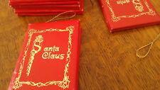 "Duncan Royale - ""Nast"" & Dedt Moroz"" Santa Claus Booklets/Ornaments 1983"