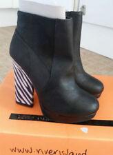 "River Island Women's Very High Heel (greater than 4.5"") Zip Boots"