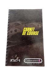 Notice livert book TOCA carnet de course pour PS2 playstation 2 sans jeux