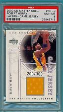 2000 UD Master Collection Robert Horry Game Used Jersey #RH-J PSA 8! Lakers POP2
