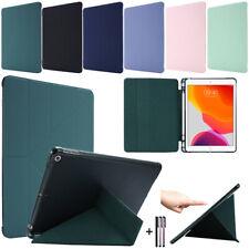"""Fr iPad 10.2"""" 7th 6th 5th Gen Pro 11 12.9 2020 Mini 4 5 Leather Case Smart Cover"""