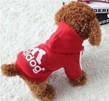 Hundepullover Hundejacke Hundepulli Hunde Welpen Kleidung Adidog Gr. S 1015 r