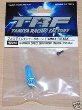 Tamiya 42248 TRF Aluminum Direct Servo Horn (Tamiya/Futaba) (TRF418/TRF419), NIP