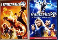 I FANTASTICI 4 + I FANTASTICI 4 E SILVER SURFER - DVD EX NOLEGGIO - FOX