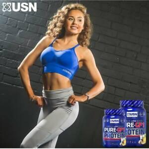 USN Ladies Sports Bra Blue Large /Extra large