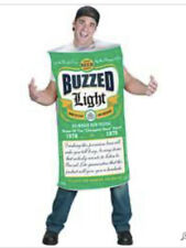Buzzed Light Beer Can Party Halloween Costume New One Size