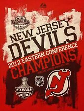 New Jersey Devils Vintage 2012 Eastern Conference Champions Shirt Stanley  Cup S 05d374a66