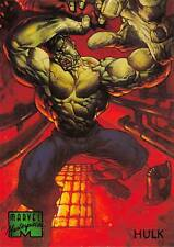 HULK / 1995 Marvel Masterpieces (Fleer) Base Trading Card #40