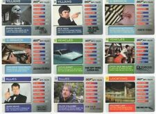 JAMES BOND 007 SPY FILES COLLECTABLE CARD COLLECTION NEAR MINT CONDITION