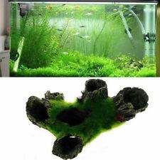 Aquarium Mountain Fish Tank Resin Landschaftsbau Ornament Stein Steingarten Baum...
