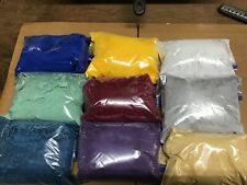 9 lbs powder coating paint, DuPont 9 different colors
