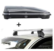 Dachbox VDPFL320L+Dachträger K1P Alu für Lexus IS XE30 Hybrid 4Türer ab 13