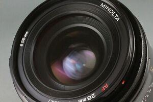 EXCELLENT Minolta AF 28mm f/2 F2 Wide Angle Prime Lens From Japan #31